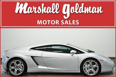 2004 Lamborghini Gallardo  2004 Lamborghini Gallardo Grigio with Crema E gear only 17070 miles