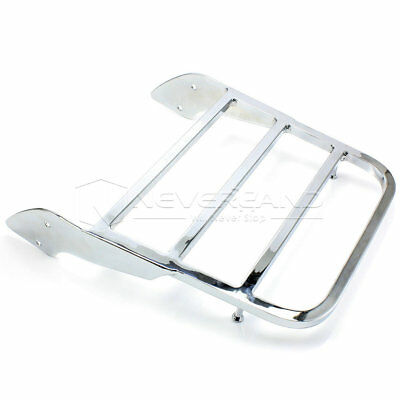 Sissy Bar Luggage Rack Seat For Honda Shadow Steed VLX600 Aero Spirit 750 Chrome