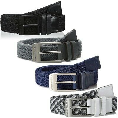NEW Men's Under Armour Braided Golf Belt - Choose Size & Color!