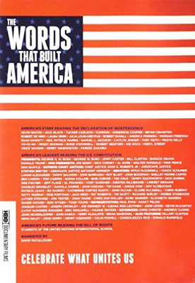 The Words That Built America  DVD NEW