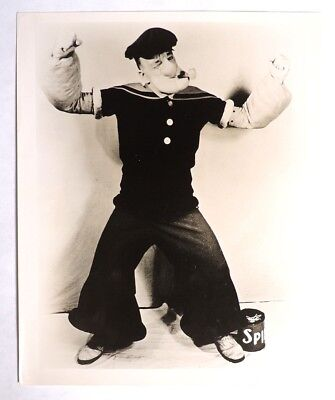 P813. Vintage: Popeye Impersonator HENRY FOSTER WELCH PHOTOGRAPH (c. 1930's)