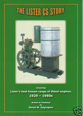 "STATIONARY ENGINE BOOK: The Lister ""CS"" Story"