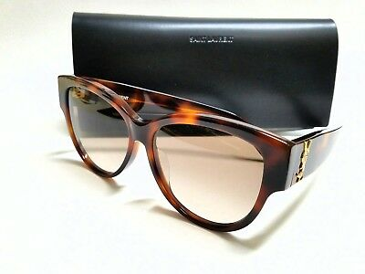 2a7c937211f Authentic SAINT LAURENT SL M3/F 005 Havana/Brown Gradient Lens 57mm  Sunglasses