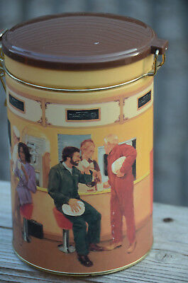 Vintage TIM HORTONS COFFEE Limited Edition Storage TIN CANNISTER Can #1 First
