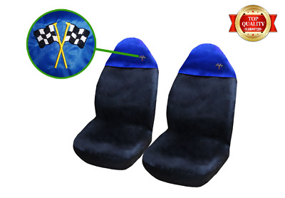 PREMIUM Mercedes SLK Car Seat Covers / Protectors Heavy Duty 1+1 Blue Top