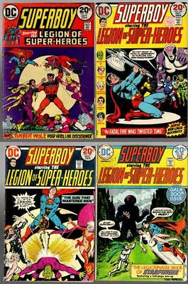 Superboy And The Legion Of Super Heroes #197-200