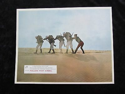 CARRY ON FOLLOW THAT CAMEL  lobby card #1 KENNETH WILLIAMS, PHIL SILVERS