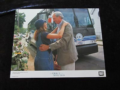 THE OBJECT OF MY AFFECTION lobby card # 8 JENNIFER ANISTON, ALAN ALDA