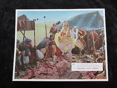 CARRY ON FOLLOW THAT CAMEL  lobby card #2 KENNETH WILLIAMS, PHIL SILVERS