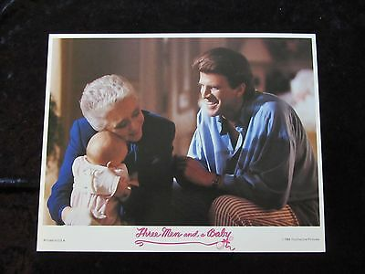 THREE MEN AND A BABY lobby card # 5 - TED DANSON