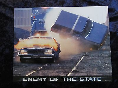 ENEMY OF THE STATE lobby card # 9 -  CAR CHASE Scene