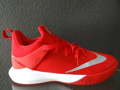 af0dd9c4a093 Nike Zoom Shift Tb Shoes University Red White 897811-600 Mens Size 12 New