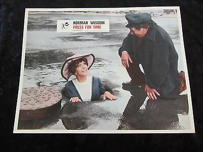 PRESS FOR TIME lobby card #3 NORMAN WISDOM