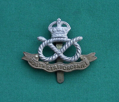 The South Staffordshire Regiment - 100% Genuine British Army Military Cap Badge