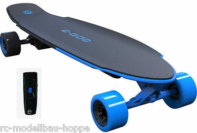 Yuneec EGO2CRUS001 E-GO 2 Elektro Skateboard Long Board Royal Wave blau