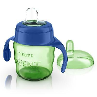 Philips Avent Easy Sip Spout Cup 7oz/200ml (Green/Blue) 6m+ Sippy Cup