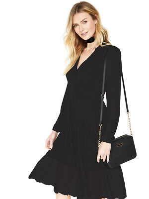V by Very Pleated Shirt Dress