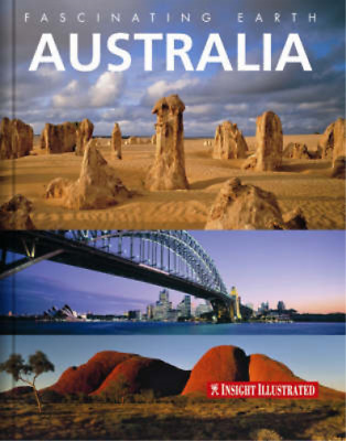 Australia Insight Fascinating Earth, GeoGraphic, Used; Good Book