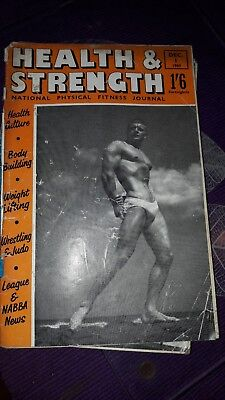 Bodybuilding magazine HEALTH AND STRENGTH   DEC 1960