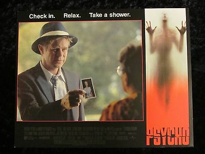 PSYCHO lobby card # 8 WILLIAM H. MACY,  GUS VAN SANT