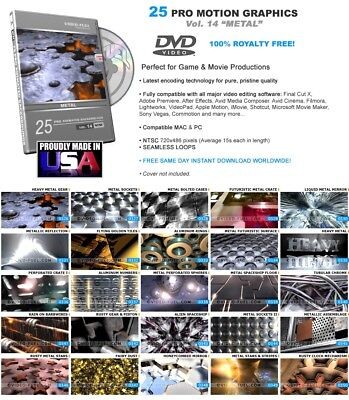 Vol.14 Genuine Video-Fuel Seamless Pro Backgrounds Animations Royalty Free Loops