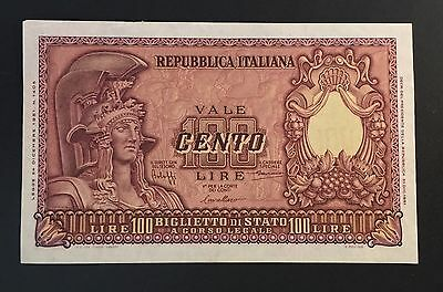 Italy, 1951 One Hundred Lire note