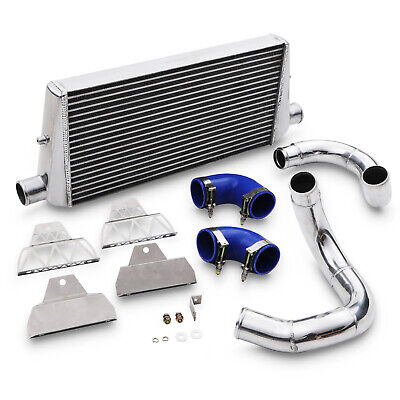 Alloy Front Mount Intercooler Fmic Kit For Audi Tt Mk1 8N 1.8T 225 Bhp 98-06