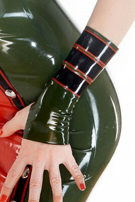 819 Latex Rubber Gummi military mitts Gloves mittens costume customized 0.4mm