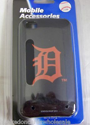 Detroit Tigers Apple iPhone 4 4S Faceplate Hard Protector Case Cover Snap On