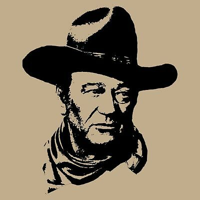 "John Wayne ""The Duke"" t shirt retro vintage western movie and cowboy icon"
