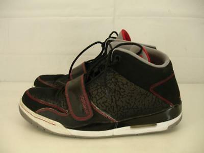 cheap for discount b6388 ded99 Mens sz 13 2013 Nike Air Jordan Flight Club 90 s Black Red Grey 602661-004