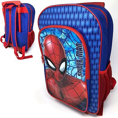 Spiderman Deluxe Backpack Trolley Bag New Luggage