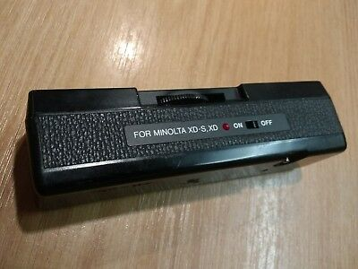 AUTO WINDER D  for minolta ( FITS XD 5  7 ETC ) JAPAN TESTED
