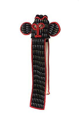 Bamileke Beaded Elephant Mask Cameroon African Art