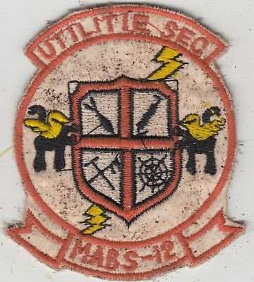 USMC MABS-12 Marine Air Base Squadron 12 Patch