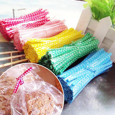Twist Ties for Wedding Party Bakery Cookies Candy Cello Bags