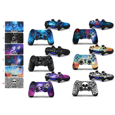 Vinyl Decorative Sticker Skin Cover Decal Wrap For PS4 Playstation 4 Controller