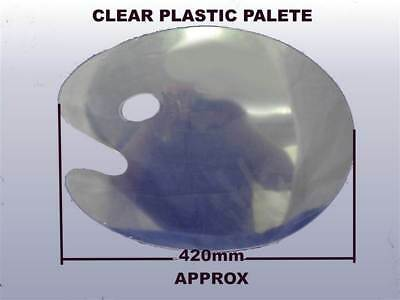 Artists painting pallet Large Clear Kidney Palette - Artists Oil Acrylic