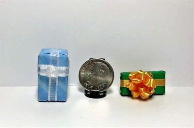 Dollhouse Miniature Presents - All Occasion Wrapped Gifts #10 1:12 Scale