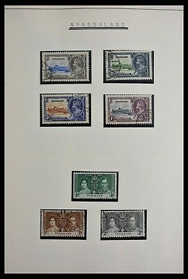 Lot 28975 Collection stamps of Nyassaland/Malawi 1935-1990.