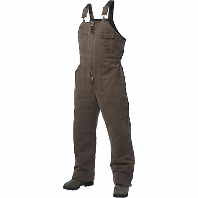 Tough Duck Washed Insulated Overall-S Chestnut #75371BCHESTNUTS