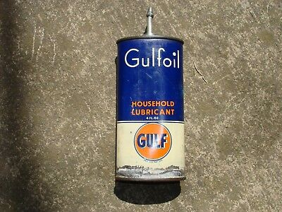 Gulfoil Household Handy Oiler  oil can lead top