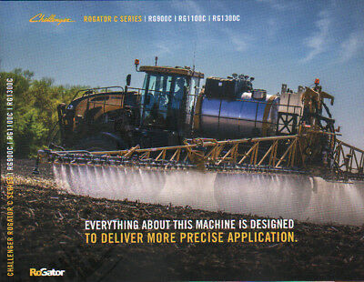 "AGCO Challenger ""Rogator C Series"" Self Propelled Applicator Brochure Leaflet"