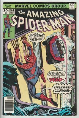 Amazing Spider-Man # 160 Strict VF/NM 1st Appearance Spider-Mobile Wow