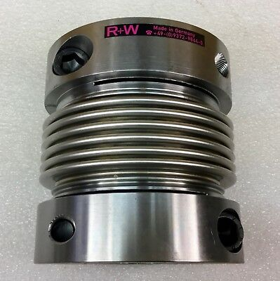 R+W Style Bk Precision Bellow Coupling New In Pkg