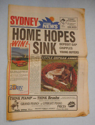#GG.   SYDNEY MIDWEEK NEWS 5th OCTOBER 1988 -  FIRST ISSUE, VOL. 1 NO. 1