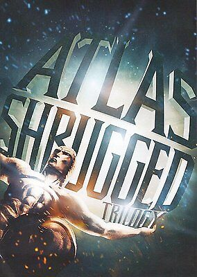 Atlas Shrugged Trilogy Parts 1 2 3 (DVD, 2011) - NEW!!