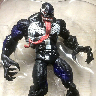 "hasbro Marvel Legends VENOM Spider-man w/ tail 6"" exclusive Action Figure toy"