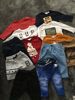 Boys NEXT & RIVER ISLAND & ZARA BUNDLE age 3,6 Months MUST SEE