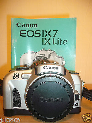 From 'the Camera Store' Canon Eos Ix7 Quartz Date Aps Film Slr Camera Body Jjn16
